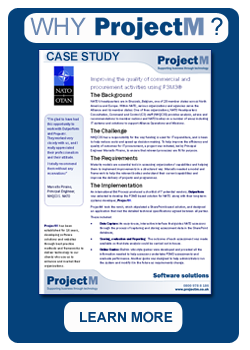 Why ProjectM? CASE STUDY - NATO
